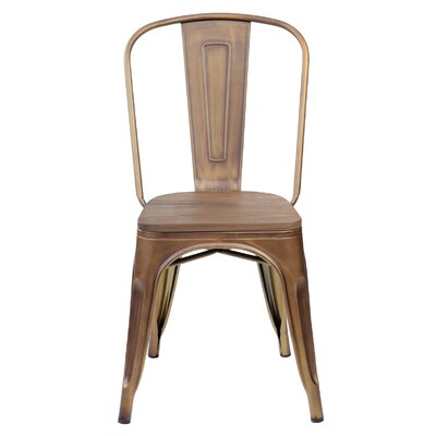 Janeen 33.5 Bar stool Finish: Antique Copper