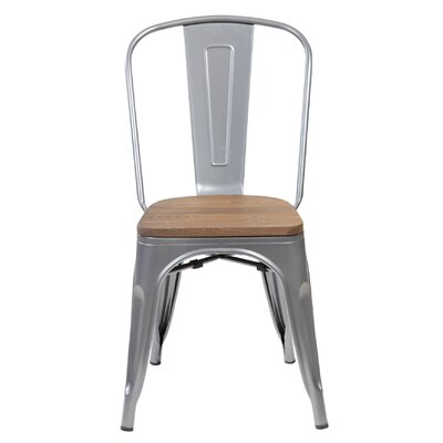Janeen 33.5 Bar stool Finish: Transparent