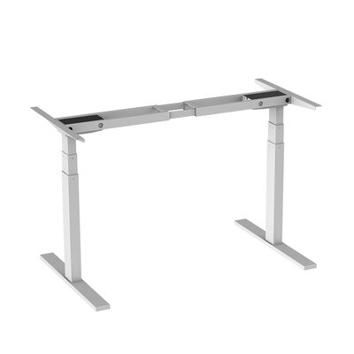 Ladner 50.8 H x 70.8 W Desk Base Finish: White
