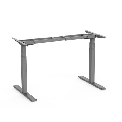 Ladner 50.8 H x 70.8 W Desk Base Finish: Gray