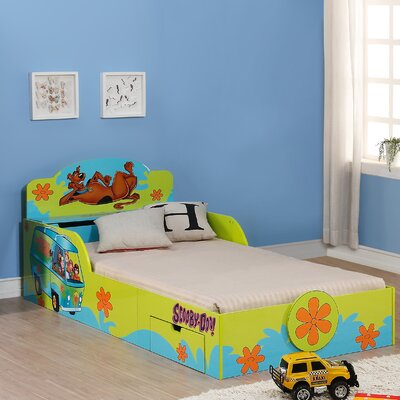 Scooby Doo Kids Twin Platform Bed with Storage