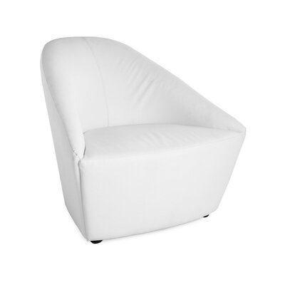 Barrel Chair Color: White