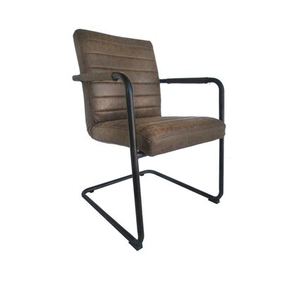 Leather Guest Chair Saddleback Product Image 596