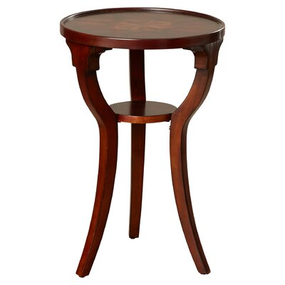 Eyers End Table Color: Cherry