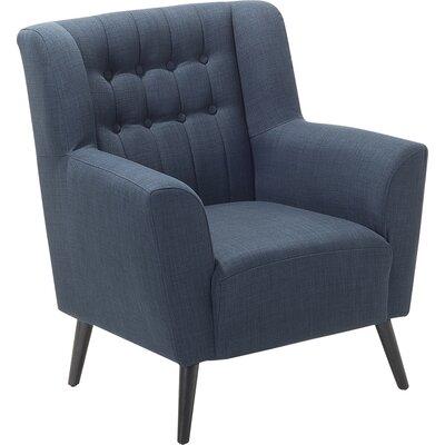 Tardif Armchair Upholstery: Dark Blue