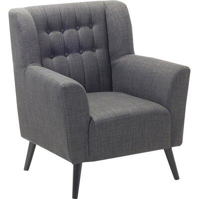 Tardif Armchair Upholstery: Dark Gray
