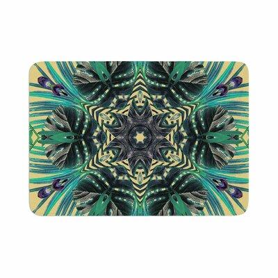 Alison Coxon Paradise Memory Foam Bath Rug Size: 0.5 H x 17 W x 24 D