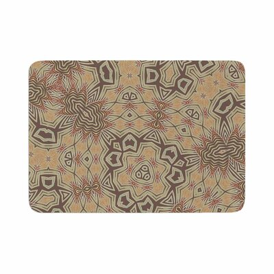 Alison Coxon Tribal Earth Digital Memory Foam Bath Rug Size: 0.5 H x 17 W x 24 D