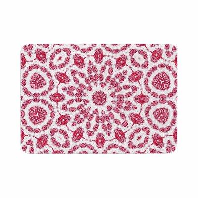 Alison Coxon Ruby Mandala Digital Memory Foam Bath Rug Size: 0.5 H x 24 W x 36 D