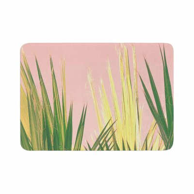 Ann Barnes Neon Jungle II Photography Memory Foam Bath Rug Size: 0.5 H x 17 W x 24 D
