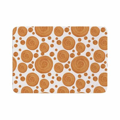 Alisa Drukman Pattern Geometric Memory Foam Bath Rug Size: 0.5 H x 24 W x 36 D