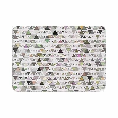 Angelo Cerantola Triangulation Geometric Memory Foam Bath Rug Size: 0.5 H x 17 W x 24 D