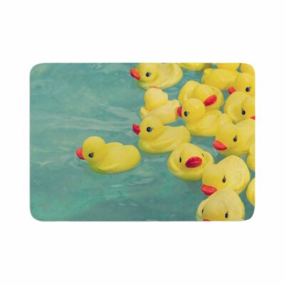 Ann Barnes Escaping Normal Memory Foam Bath Rug Size: 0.5 H x 17 W x 24 D