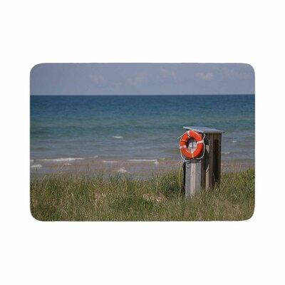 Angie Turner Life Saver Memory Foam Bath Rug Size: 0.5 H x 24 W x 36 D