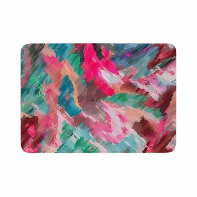 Alison Coxon Giverny Memory Foam Bath Rug Size: 0.5 H x 17 W x 24 D