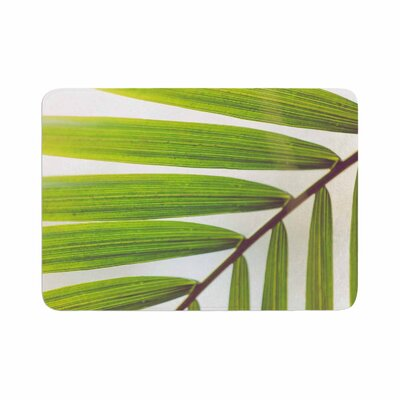 Ann Barnes Jungle Abstract Memory Foam Bath Rug Size: 0.5 H x 17 W x 24 D