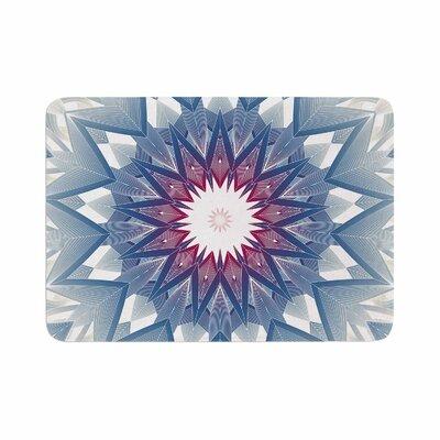Angelo Cerantola Starburst Digital Memory Foam Bath Rug Size: 0.5 H x 17 W x 24 D