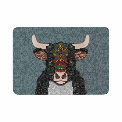 Art Love Passion Steve the Bull Memory Foam Bath Rug Size: 0.5 H x 24 W x 36 D
