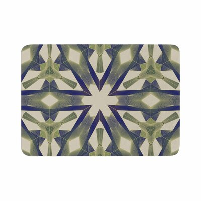 Angelo Cerantola Lymph Geometric Modern Memory Foam Bath Rug Size: 0.5 H x 17 W x 24 D