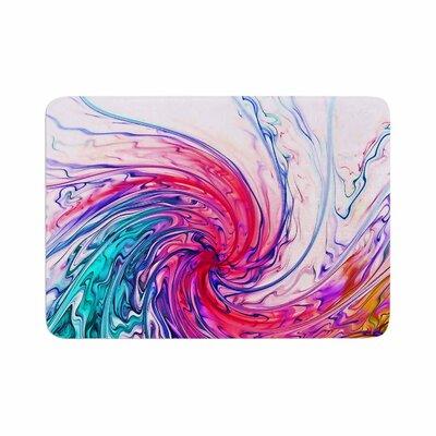 Alison Coxon Colour Wave Memory Foam Bath Rug Size: 0.5 H x 24 W x 36 D