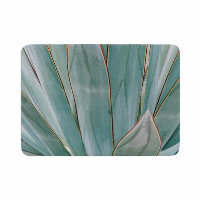 Ann Barnes Agave Abstract Photography Memory Foam Bath Rug Size: 0.5 H x 17 W x 24 D