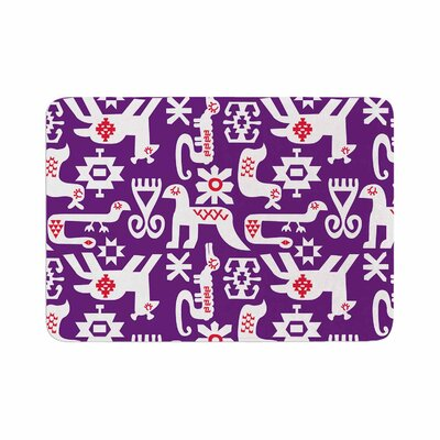 Agnes Schugardt the Tribe Memory Foam Bath Rug Size: 0.5 H x 24 W x 36 D