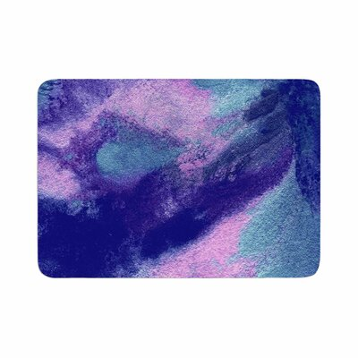 Ashley Rice AC4 Abstract Memory Foam Bath Rug Size: 0.5 H x 17 W x 24 D