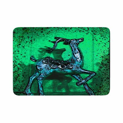 Anne LaBrie Dance on Memory Foam Bath Rug Size: 0.5 H x 17 W x 24 D