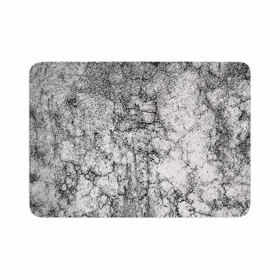 Ann Barnes Marble I Memory Foam Bath Rug Size: 0.5 H x 17 W x 24 D