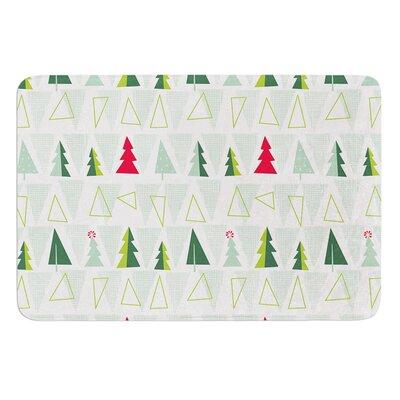 Allison Beilke Pining for Christmas Memory Foam Bath Rug