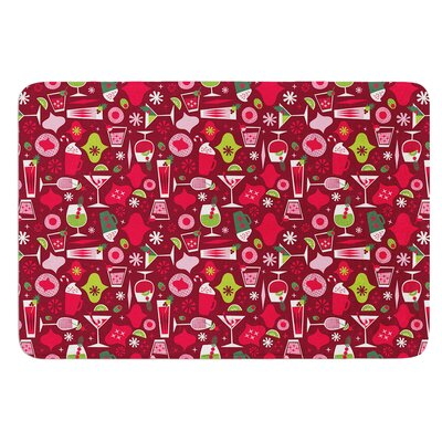Allison Beilke Holiday Spirits Memory Foam Bath Rug