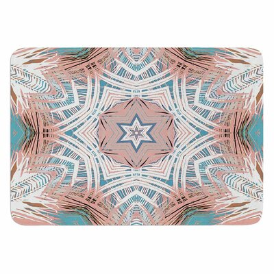Ann Barnes Jungle Abstract Memory Foam Bath Rug