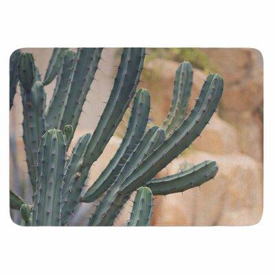 Ann Barnes Cactus Jungle II Memory Foam Bath Rug