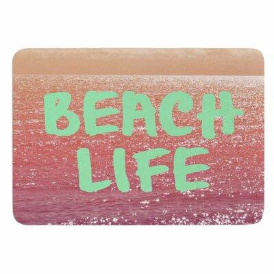 Alison Coxon Beach Life Memory Foam Bath Rug