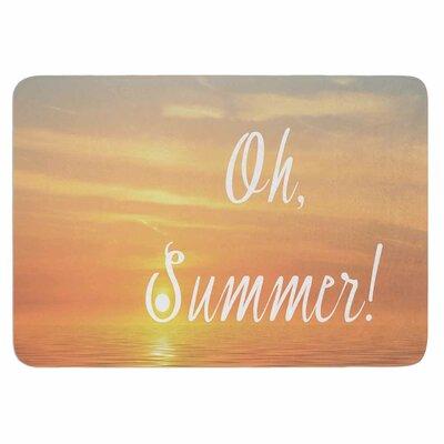 Alison Coxon Oh, Summer! Memory Foam Bath Rug