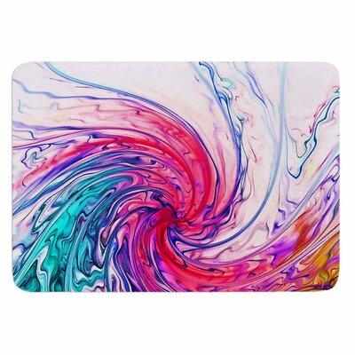 Alison Coxon Color Wave Memory Foam Bath Rug