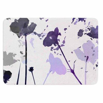 Alison Coxon Poppies Indigo Memory Foam Bath Rug