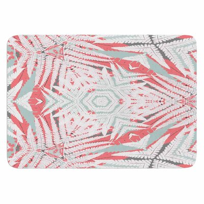 Alison Coxon Planthouse Raspberry Memory Foam Bath Rug
