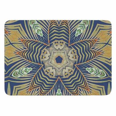 Alison Coxon Kintenge Memory Foam Bath Rug Color: Green