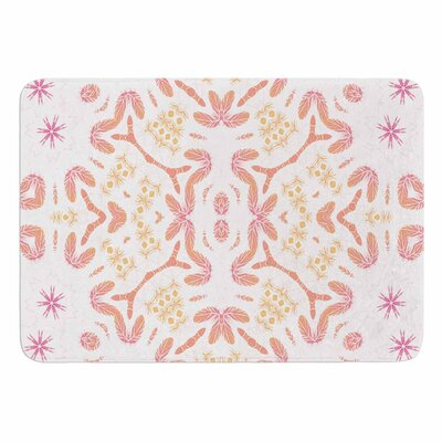 Alison Coxon Aztec Feather Memory Foam Bath Rug