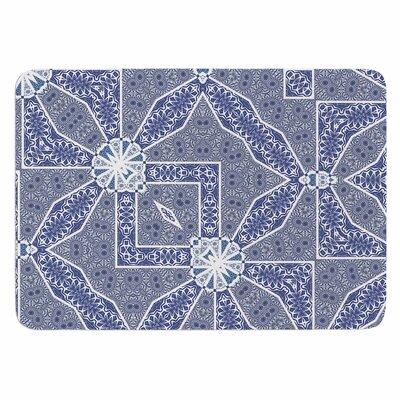 Alison Coxon Santorini Tile Memory Foam Bath Rug