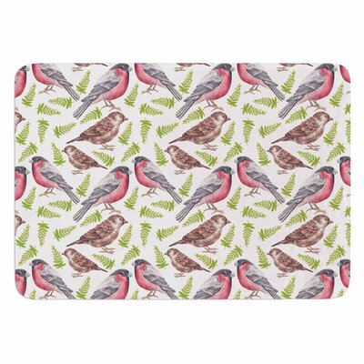 Alisa Drukman Sparrow and Bullfinch Memory Foam Bath Rug