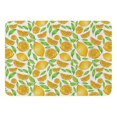 Alisa Drukman Lemons Memory Foam Bath Rug