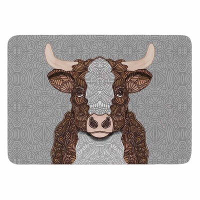 Art Love Passion Gustaf the Bull Memory Foam Bath Rug