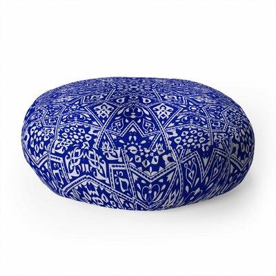 Aimee St Hill Amirah Round Floor Pillow Color: Black