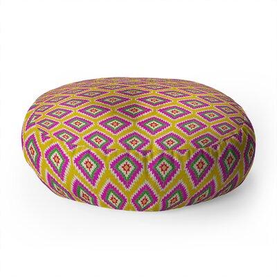 Bianca Aztec Fiber Round Floor Pillow