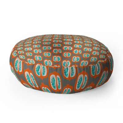 Mummysam Pomegranate Round Floor Pillow