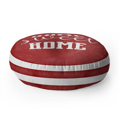 Monika Strigel Farmhouse Home Sweet Home Chalkboard Round Floor Pillow