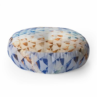 Caleb Troy Indie Sky Round Floor Pillow