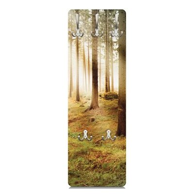 Morning Forest Wall Mounted Coat Rack